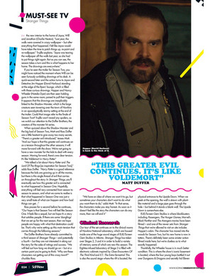 Stranger Things in SciFiNow Magazine - 2017 [5]