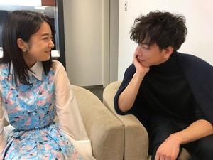 Takeru Satoh and Kamishiraishi Mone