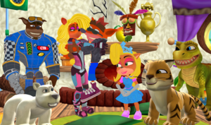 The Bandicoot Family and Friends Forever