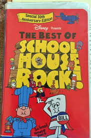 The Best Of School House Rock ! On Videocassette
