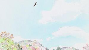 The Tale of The Princess Kaguya kertas dinding