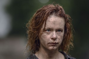 The Walking Dead Season 10 - First look at Thora Birch as Gamma.