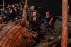 Thora Birch as Gamma in The Walking Dead: Morning Star