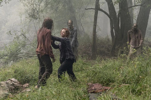Thora Birch as Gamma in The Walking Dead: Walk With Us