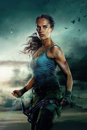 Tomb Raider (2018) Poster - Lara Croft