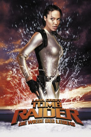 Tomb Raider: The শৈশবাবস্থা of Life (2003) Poster - Lara Croft