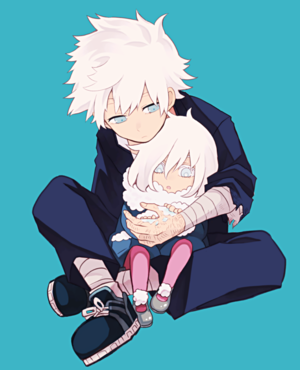 Touya and Little Geten