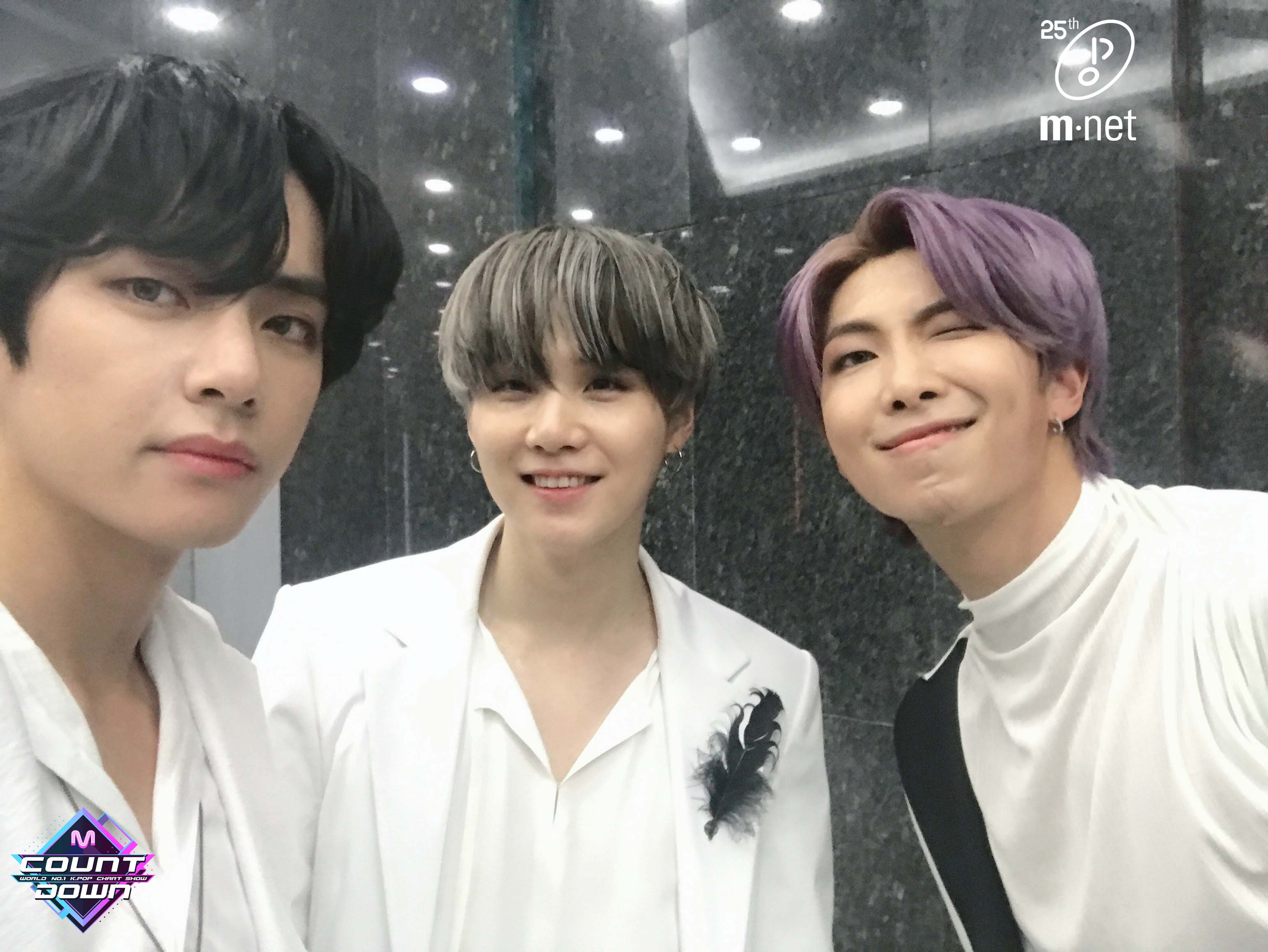 V, Suga and RM