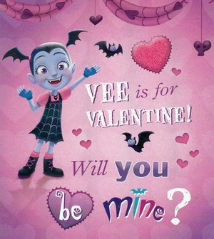 Vee is for Valentine! Will 你 be mine?