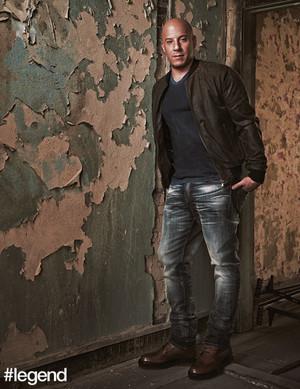 Vin Diesel - Legend Magazine Photoshoot - 2017