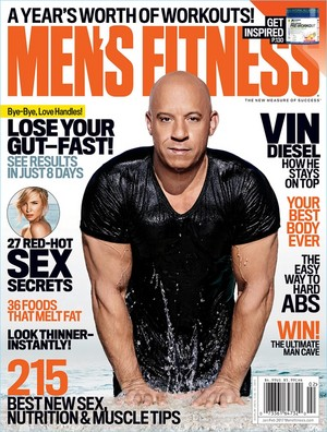 Vin Diesel - Men's Fitness Cover - 2017