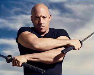 Vin Diesel - Men's Fitness Photoshoot - 2017