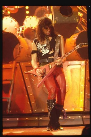 Vinnie ~Toronto, Ontario, Canada...March 15, 1984 (Lick it Up Tour)