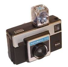 Vintage Instamatic X15 Camera With Flash Bulb