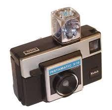 Vintage Instamatic X15 Camera With Flash Bulb