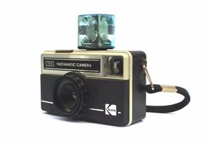 Vintage Kodak Instamatic Camera With Strap