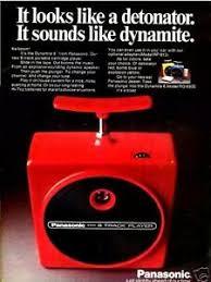 Vintage Promo Ad For 8-Track Cassette Player