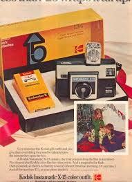 Vintage Promo Ad For Kodak X-15 Instamatic Camera