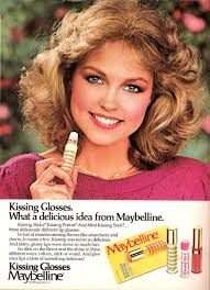 Vintage Promo Ad For Maybelline Kissing Gloss