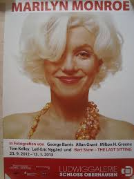 Vintage Promo Ad Marilyn Monroe Foto Exhibit