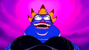 Walt 迪士尼 Screencaps – Ursula, Princess Ariel & Prince Eric