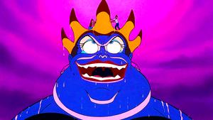 Walt Дисней Screencaps – Ursula, Princess Ariel & Prince Eric