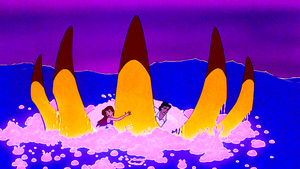 Walt Дисней Screencaps – Ursula, Princess Ariel & Prince Eric