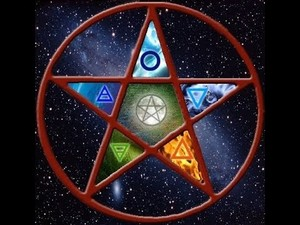Wiccan Pentagram: The Elements