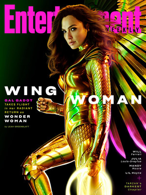Wonder Woman on the cover of Entertainment Weekly - March 2020