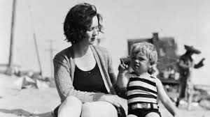 Young Marilyn And Her Mother