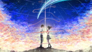 Your Name 壁纸