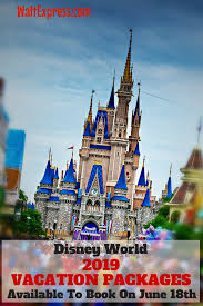 2019 Disney World Travel Package Promo