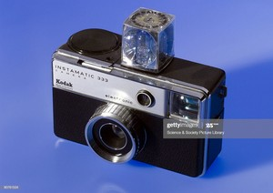 Vintage Kodak Instamatic 333 Camera With Flash Cube