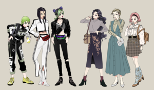 girls of jojo