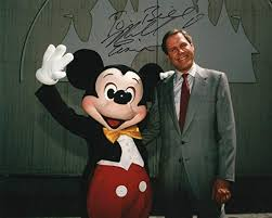 Michael Eisner And Mickey Mouse