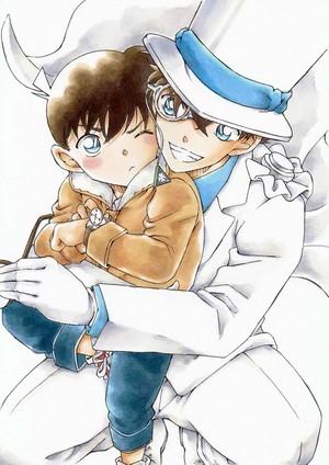 kaito kid and conan