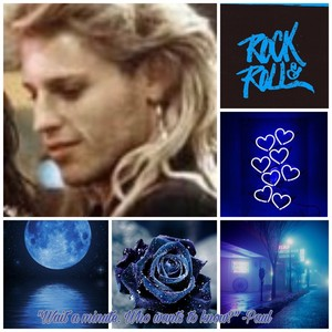 my blue themed paul aesthetic i wanted to share:)
