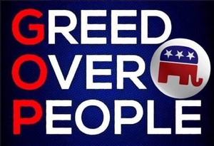Greed Over People