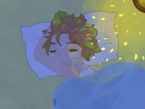 sleeping Takeshi