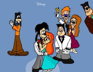 (A Goofy Movie) Max and Roxanne School Dance.,,