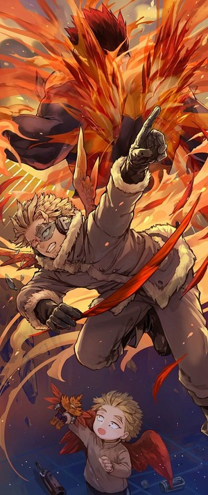 *Hawks / Endeavor : My Hero Academia*