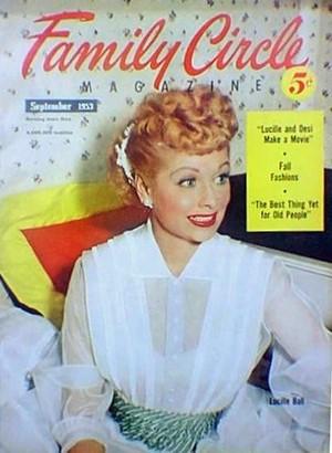 1953 Family vòng tròn Magazine