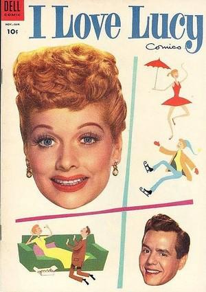 1955 I tình yêu Lucy Comic Book