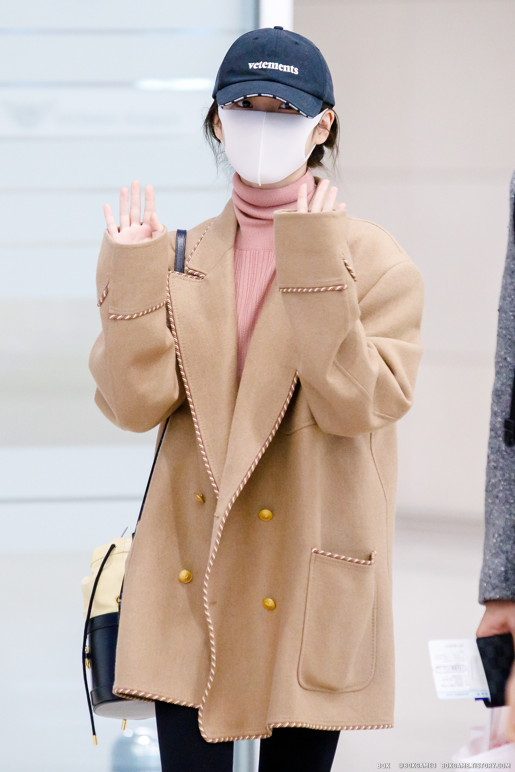 20200222 IU arrived at Incheon Airport from Milan