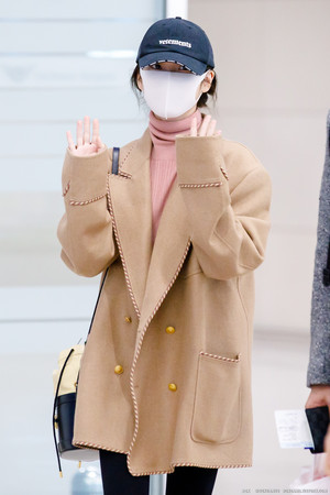 20200222 IU(アイユー) arrived at Incheon Airport from Milan
