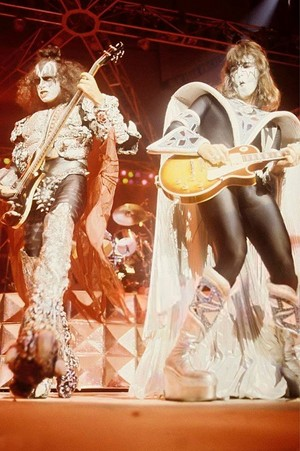 Ace and Gene (NYC) July 24-25, 1979 (Dynasty Tour)