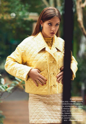 Adele Exarchopoulos - InStyle Russia Photoshoot - 2020