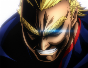 All Might swears to do his best