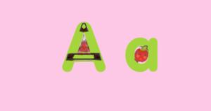 Annïe apfel, apple LetterLand