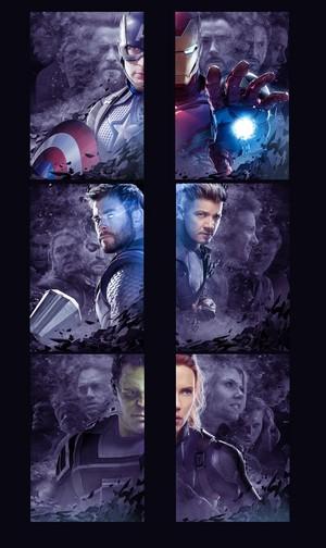 Avengers: Endgame poster desain (Unused)